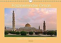 Faszinierender Oman (Wandkalender 2022 DIN A4 quer): Omans Bauwerke und Sehenswuerdigkeiten (Monatskalender, 14 Seiten )