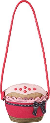 Room Seven BV Cupcake, Sacs bandoulière Femme - Rouge - Rouge, 21x18x5 cm (B x H x T) EU