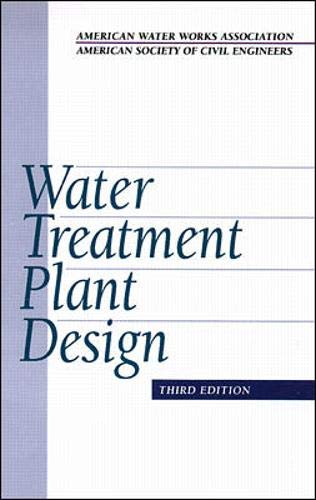 Download Water Treatment Plant Design 0070016437