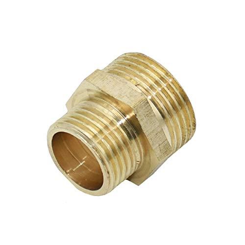 Zkenyao-Adaptadores de manguera 1 Unids Manguera de reparación de manguera grifo de grifo de goteo de riego, masculino 3/4 a 1/2 reductor de conector roscado, Fácil de instalar (Color : YELLOW)
