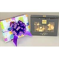 Belgian Lite - Caja de chocolates sin azúcar añadido envuelto para regalo apto para diabéticos