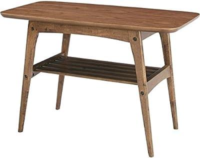 コーヒーテーブルS [Tomte]トムテ 木製(天然木) 棚収納付き TAC-227WAL