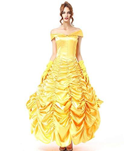 MSSugar Erwachsene Frauen Party/Abend Halloween Weihnachten Halloween Karneval Festival/Prinzessin Film/TV Thema Kostüme Kleid Cosplay Maskerade Kostüm,S