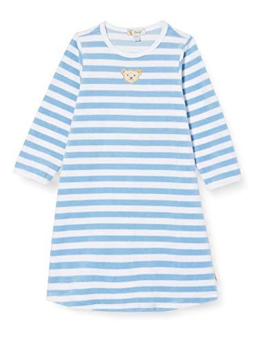Steiff Unisex Baby Cerulean Nachthemd, Blau, 80