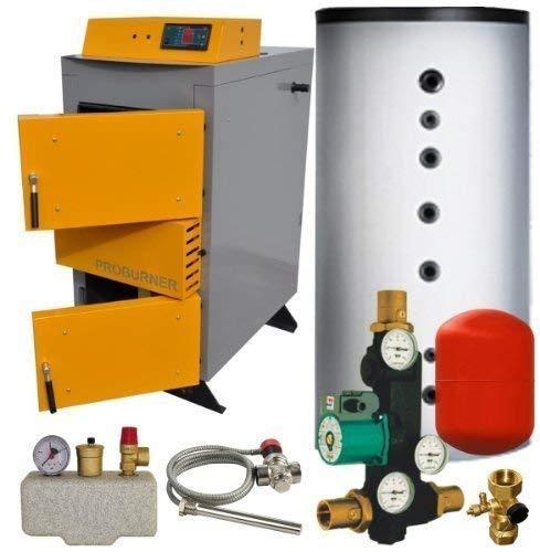Santer Solar Holzvergaser Proburner Komplettsystem 25 kW 1x1500L