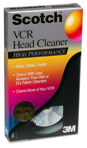 Scotch High Performance VCR Head Cleaner
