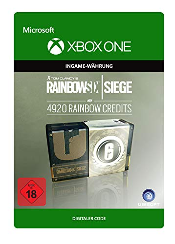 Tom Clancy's Rainbow Six Siege Currency pack 4920 Rainbow credits | Xbox One - Download Code