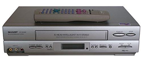 Sharp VC-GH 600 6 Kopf Videorecorder in Silber