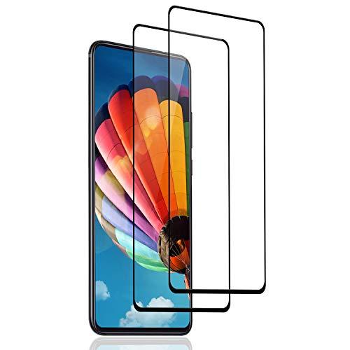SNUNGPHIR 2 Pack Protector de Pantalla para Xiaomi Mi 9T/ Mi 9T Pro,[3D Curvo Full-Cover] Cristal Templado Mi 9T/ Mi 9T Pro, 9H Dureza, Alta Definicion, Vidrio Templado para Mi 9T/ Mi 9T Pro