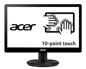 """Acer PT167Q B 15.6""""  1366 x 768  10 Point Touch Monitor with VisionCare Technology  VGA and USB Port"""
