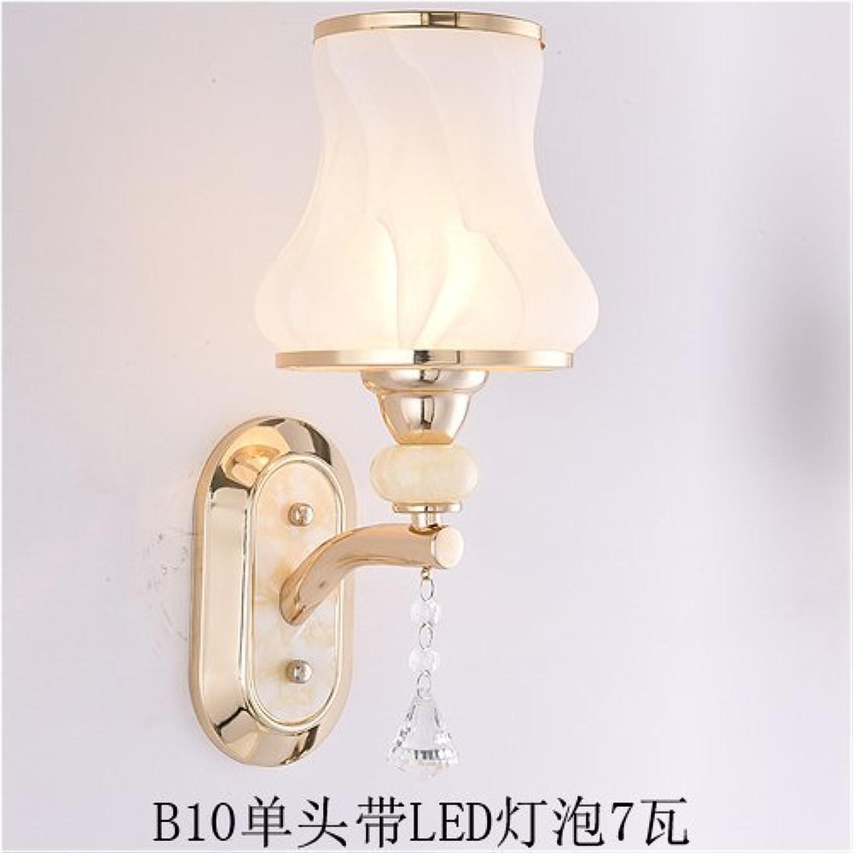 StiefelU LED Wandleuchte nach oben und unten Wandleuchten Led-Wandleuchte Schlafzimmer Wohnzimmer Treppen off road Lights Hotel Zimmer nachttischlampe, Dunkelgrau B 10-1 hinaus LED