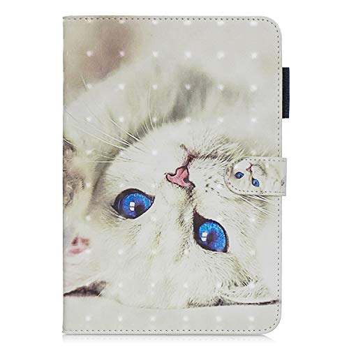 iPad Mini 5 Case, iPad Mini 4 Case,iPad Mini 3 Case,iPad Mini 2 Case, iPad Mini 1 Case,Ultra-slim Lightweight PU Leather Flip Wallet 3D Cover with Auto Sleep/Wake and Card Slot Tablet, Cat