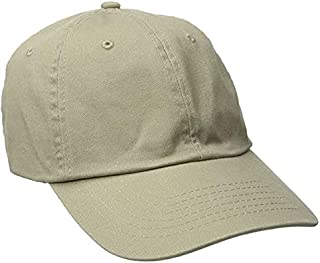 Dorfman Twill Cap for Men and Women Baseball Cap Softball Hat with Pre Curved Brim