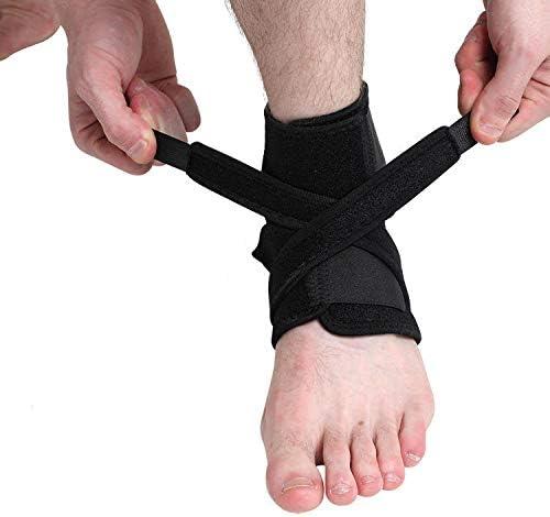 SHQ 1 PC Ankle Denver Mall Support 100% quality warranty! Brace Compression Foot Elastic Spor