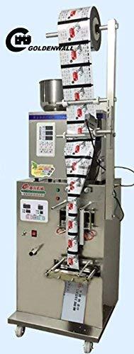CGOLDENWALL Abfüll- und Verpackungsmaschine Automatische Pulverfüllung Dosierverpackungsmaschine Pulvergranulatteegrassamen-Verpackungsmaschine (2-50 g Cursor-Positionierung)