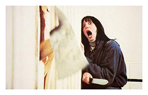DOLUDO Wandkunst Dekoration The Shining Movie Poster Jack Torrance Axt Poster Frau schreien Leinwand Malerei Badezimmer Kunst Home Kunst Wandkunst Malerei Geschenk 40 x 60 cm (kein Rahmen)
