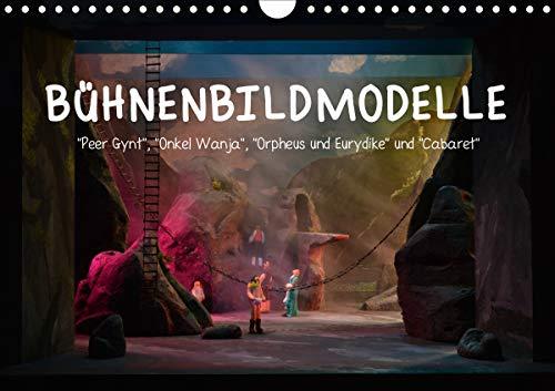 Bühnenbildmodelle (Wandkalender 2021 DIN A4 quer)