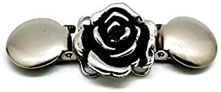 Clothes Clip – Cinch Together Your Dress, Sweater, Cardigan or Other Clothing - Handmade Rose Design