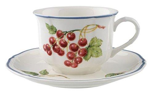 Piatto da colazione 21 centimetri Porcellana Villeroy /& Boch Botanica 10-2334-2640 21 cm Motivo con radice