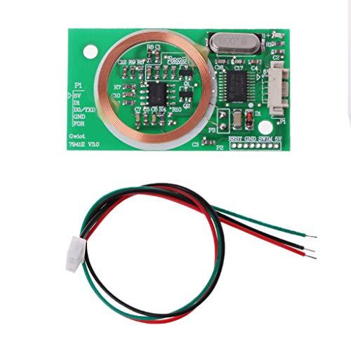 Yintiod EM4100 8 CM RFID-lezer draadloze module UART 3-pins 125 KHz DC 5 V leessensor kit
