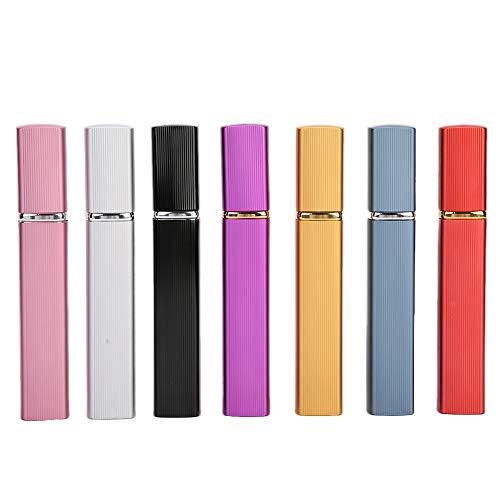 Bouteille portable, atomiseurs rechargeables Bouteilles en aluminium de pulvérisation de liquide vide, bouteille de cosmétiques à brouillard pulvérisateur à gâchette à brume fine, modes de nettoyage 1