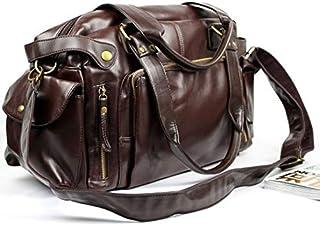 Nixon H9448 Shoulder Bag for Men - Leather, Brown