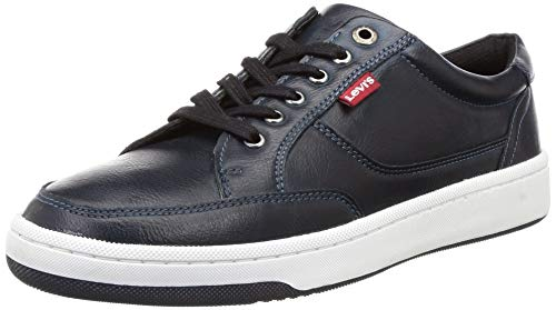 Levi's Men's Bamako Navy Sneakers-8 UK (42 EU) (9 US) (38109-0296)