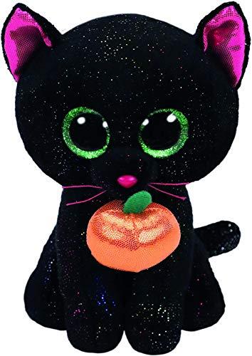 TY - Beanie Boos Potion - Gato negro con calabaza 15cm - Halloween (36210TY)