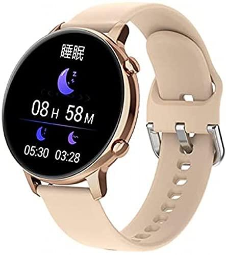 Reloj inteligente para mujer, reloj inteligente para parejas con música local, reloj de llamada con Bluetooth, reloj de pulsera personalizado para teléfono inteligente IP67, reloj de pulsera deportivo