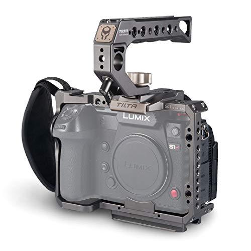 (Tilta Gray) Tilta TA-T38-A-G Camera Cage Cámara Jaula para Tiltaing Panasonic LUMIX S1 S1R S1H S Series Rig (S Series Kit A)