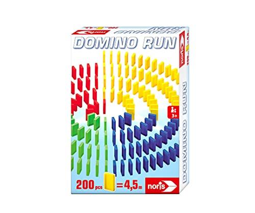Noris Domino Run 606065644 - Juego de dominó (200 fichas de dominó, a Partir de 3 años)