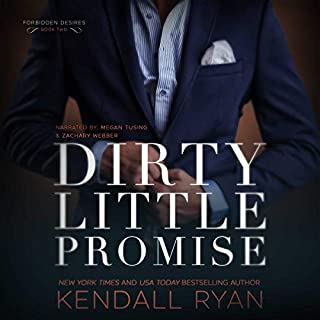 Dirty Little Promise audiobook cover art