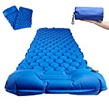 Best Self Inflating Pads - Inflatable Camping Sleeping Mat with Foot Pump Widen Review