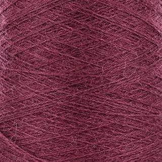 Valley Yarns 2/14 Alpaca Silk on 250 Gram Cones for Weaving, Knitting, Crochet - Mulberry