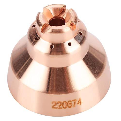 Plasma Shield Cap, 5 Stück Plasmaschneider aus Tellurkupfer für thermische Dynamik MAX45 Schneidbrenner Verbrauchsmaterial 220674