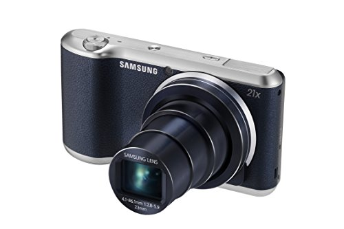 'Samsung Galaxy Camera 2 – 16.3 MP-Kompaktkamera (4.8 Touchscreen, 21 x optischer Zoom, optischer Bildstabilisator, Full HD Video, WiFi, GPS, Kobalt Blau