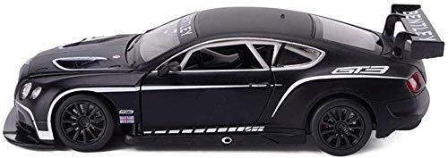 Modelo de coches para niños 01:32 Escala Continental GT3 altamente Detalle Die Cast-modelo, modelo de coche Adornos Simulación de aleación modelo de coche de regalo de cumpleaños for el muchacho, 14.5