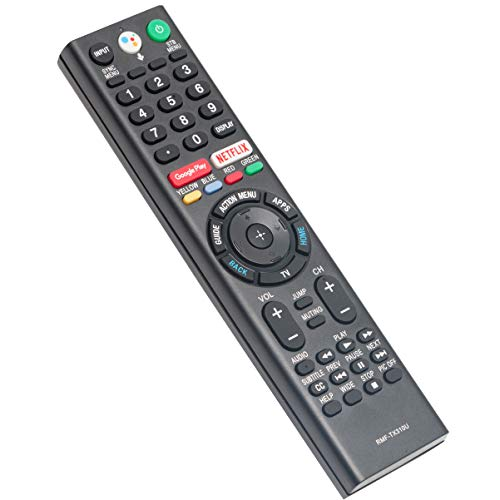 Voice-Activated Remote Replacement fit for Sony BRAVIA TV XBR-75X900F XBR-85X900F XBR-55X900F XBR-49X900F XBR-55X800G XBR-75X850F KD-43X750F KD-49X750F KD-55X750F KD-65X750F XBR-49X800G XBR-65X850F
