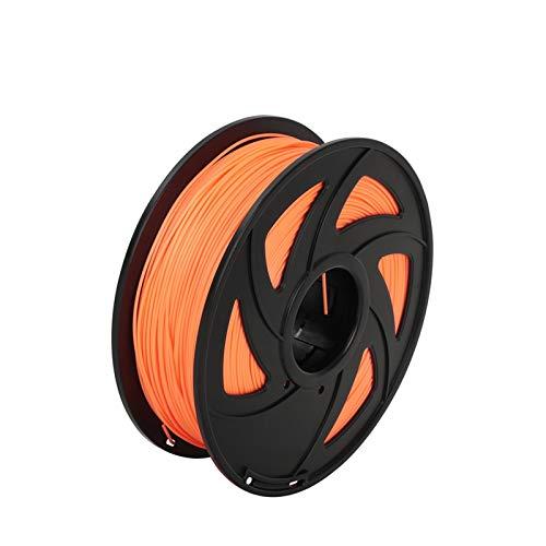 PLA-Filament 1.75mm für 3D-Drucker 3D-Stifte Filamentlänge 330 Meter 1kg Mehrere Farben Keine Blasen Kunststoffmaterial (Color : PLA Orange)