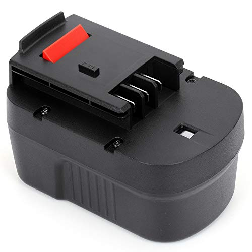 POWERAXIS 14.4Volt HPB14 Replacement Battery Compatible with Black and Decker FSB14 499936-34 499936-35 A14 A14F A144 A1714 HPD14K-2 CP14KB HP146F2 HP148F2R A144EX BD1444L BPT1048 B-8316 FS140BX PS140