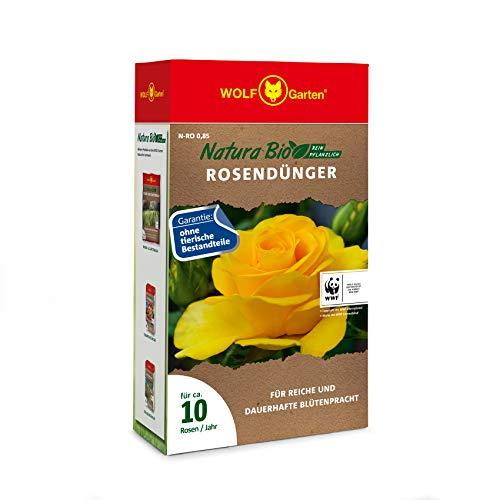 WOLF Garten - Rosendünger in Rot, Größe ca. 10 Rosen/Jahr
