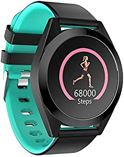 DUANDETAO G50S 1.3 inch IPS Color Screen Smartwatch IP67 Waterproof,Black Edge,Support Call Reminder/Heart Rate Monitoring/Blood Pressure Monitoring/Sleep Monitoring/Sedentary Reminder(Black) watches