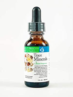 Trace Minerals in Colloidal Suspension by Morter HealthSystem B.E.S.T. Process Alkaline Pure Organic Fulvic Trace Minerals Concentrate with Trace Elements & Amino Acids for Energy, Immunity & Wellness