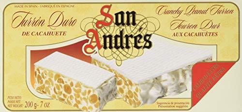 San Andrés Peanuts Crunchy Turron - knuspriger Erdnussturrón, 200 g, SA 407