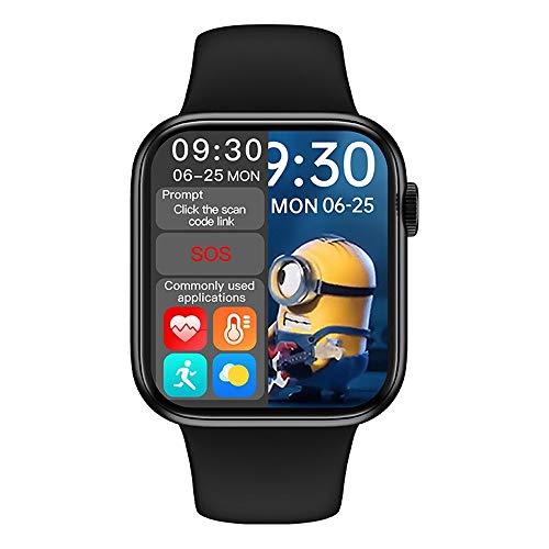 """Relógio SmartWatch HW16, Tela de 1,72"""", Botão Giratório, Realiza Chamadas, Full Touch (borda infinita), c/Cont. de Música, Notificações e Sensores Independentes. Já no Brasil, com !"""