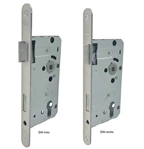 BKS 3000251115 Zimmertür-Einsteckschloss nach DIN18251 0415 Kl.2 PZ DIN rechts 8/72 mm Dorn 55mm Stulp 20mm