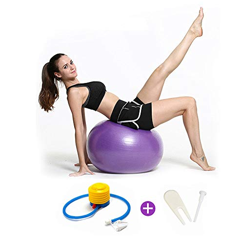 Great Features Of ZPF Yoga Ball, Fitness Ball, Anti-Explosion Stability Sports Yoga Ball, Body Balan...