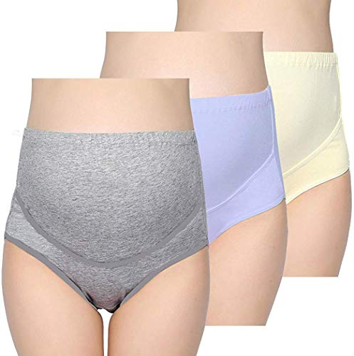 Product Image of the KUCI Maternity Underwear Panties Womens Over Bump Adjustable Soft Cotton...