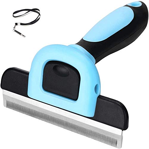 VSILE Pet Grooming Brush Effectively Reduces Shedding by up to 95% Professional Deshedding Tool for Dogs and Cats,Dog Whistle,Ultrasonic Dog Training Whistles with Adjustable Frequencies.