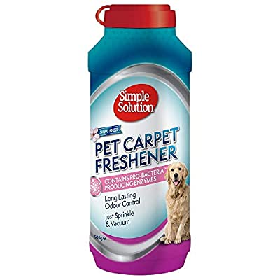 Simple Solution Pet Carpet Freshener with Enzymatic Cleaning Granules
